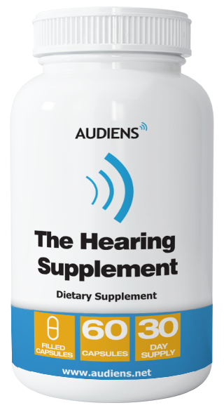 The Hearing Supplement Bottle Image